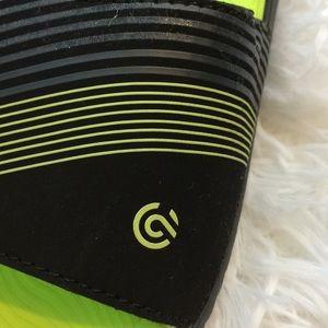 Champion Shoes - Champion Boys Sz 13 Black Green Sliders